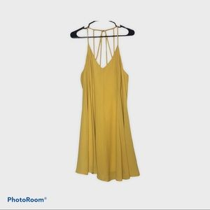 Forever 21 Plus Dress Yellow 0X